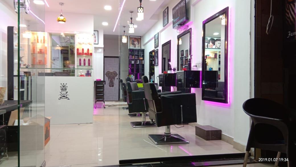 Zebra Unisex Salon